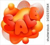 modern liquid  great design for ...   Shutterstock .eps vector #1410155564