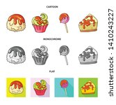 vector design of confectionery... | Shutterstock .eps vector #1410243227