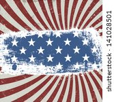 american patriotic background.... | Shutterstock . vector #141028501