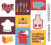cooking utensils vector...   Shutterstock .eps vector #1410323927