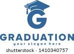 graduation hat logo design for... | Shutterstock .eps vector #1410340757