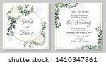 vector floral pattern for...   Shutterstock .eps vector #1410347861