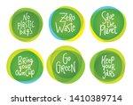 zero waste life style vector... | Shutterstock .eps vector #1410389714