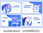 medical concept  banners... | Shutterstock .eps vector #1410400121