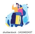 travelling vector illustration...