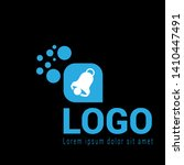 bell ringing logo concept....