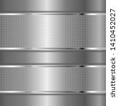 metal textured background with... | Shutterstock .eps vector #1410452027