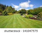 beautiful lawn | Shutterstock . vector #141047575