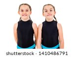 portrait of identical twin... | Shutterstock . vector #1410486791