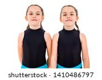 portrait of identical twin... | Shutterstock . vector #1410486797