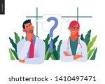 medical insurance template ... | Shutterstock .eps vector #1410497471