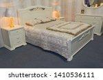 luxury bedroom furniture in a... | Shutterstock . vector #1410536111