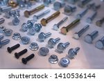 bolts and nuts in the... | Shutterstock . vector #1410536144