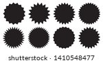 set of vector starburst ... | Shutterstock .eps vector #1410548477