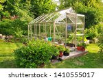 A Garden Center Greenhouse With ...