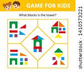 educational game for children.... | Shutterstock .eps vector #1410573221