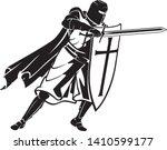 crusader soldier defend ...