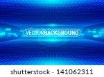 abstract digital blue... | Shutterstock .eps vector #141062311