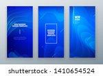 blue vertical stories sale... | Shutterstock .eps vector #1410654524