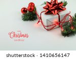 christmas and new year greeting ... | Shutterstock . vector #1410656147