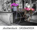 A Metal Decorative Big Bicycle...