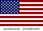 flag of usa. american flag.... | Shutterstock .eps vector #1410681644