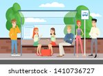vector illustration of people... | Shutterstock .eps vector #1410736727