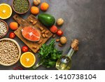 the concept of a healthy... | Shutterstock . vector #1410738104
