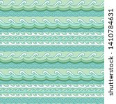 exotic waves pattern. vector... | Shutterstock .eps vector #1410784631