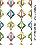 abstract seamless wallpaper | Shutterstock .eps vector #141080809