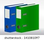 two color binders
