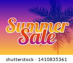 abstract summer sale background.... | Shutterstock .eps vector #1410835361