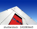 warehouse entrance | Shutterstock . vector #141083665