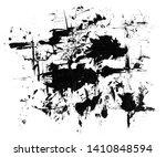 black grunge brush strokes.... | Shutterstock . vector #1410848594