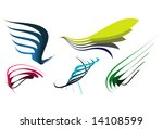 some abstract elegance shapes ... | Shutterstock .eps vector #14108599