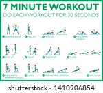 good health and fitness  just... | Shutterstock .eps vector #1410906854