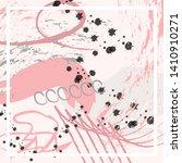 abstract silk hijab creative... | Shutterstock .eps vector #1410910271