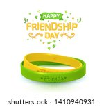 friendship day background with... | Shutterstock .eps vector #1410940931
