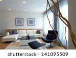 modern home living room | Shutterstock . vector #141095509