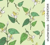 seamless pattern with... | Shutterstock .eps vector #1410969344