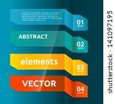 color web banners set.... | Shutterstock .eps vector #141097195