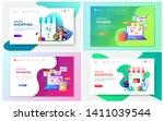 modern vector illustration of... | Shutterstock .eps vector #1411039544