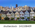 View From Alamo Square At...