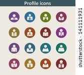 people icons | Shutterstock .eps vector #141111931
