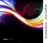 colorful  bright and vivid... | Shutterstock .eps vector #141113914