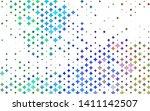 light multicolor  rainbow... | Shutterstock .eps vector #1411142507