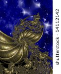 abstract illustration of alien... | Shutterstock . vector #14112142