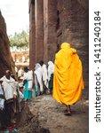 lalibela  ethiopia   november...   Shutterstock . vector #1411240184
