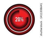 circle percentage diagrams 20 ...