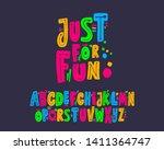 Just For Fun Font Set Design